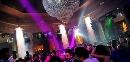 Sala Pista con lampadario - Capodanno Nepentha Club Milano