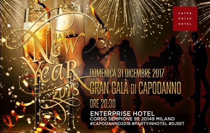 Capodanno Enterprise Hotel Milano Foto