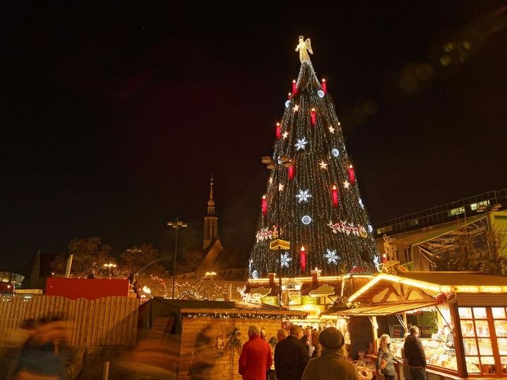 Mercatini di Natale alla Fonderia Napoleonica Milano Foto