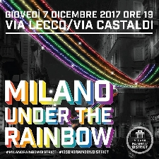 Milano Luminarie Under The Rainbow Foto